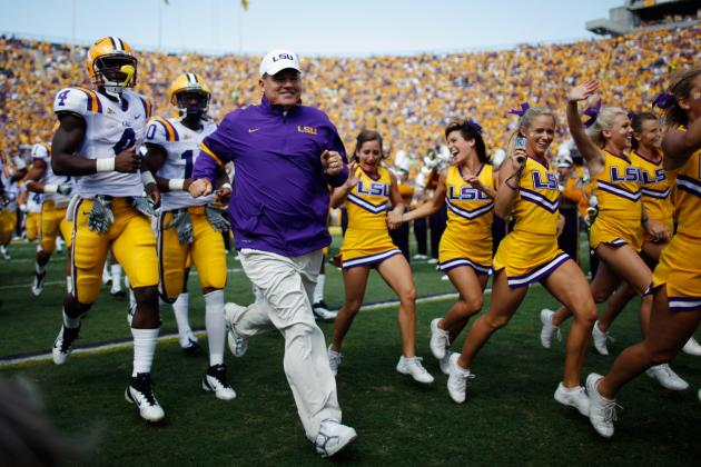 LSU Football: Where Does Miles' Current Recruting Class Rank Among Past Ones?