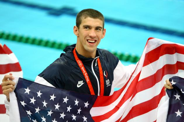 London 2012 Olympic Preview: Ranking Michael Phelps' Best Chances to Win Gold