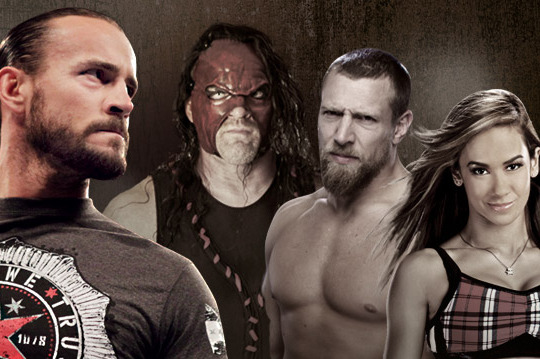 WWE: CM Punk, Daniel Bryan, Kane and AJ: Perfect Professional Wrestling Formula?