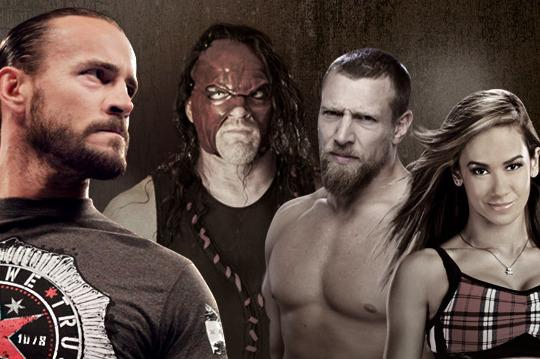 WWE: CM Punk, Daniel Bryan, Kane and AJ: Perfect Professional Wrestling Formula?