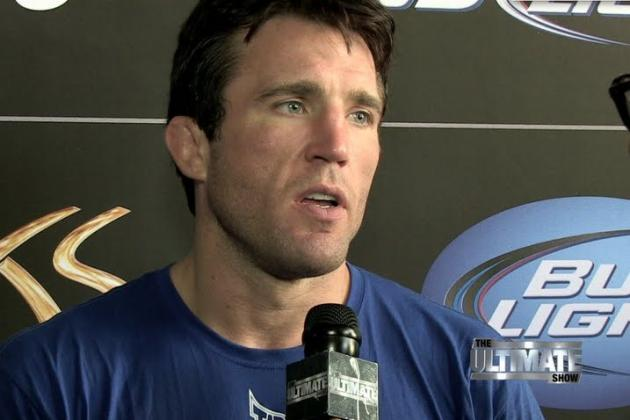 UFC 148 Video Interviews: Chael Sonnen, Tito Ortiz, Forrest Griffin and More