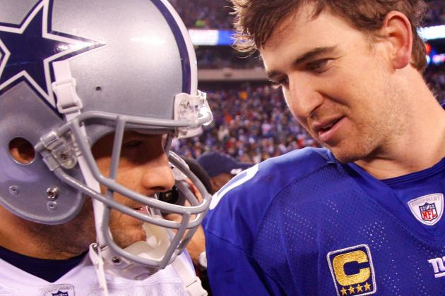 Eli Manning vs. Tony Romo: NFC East's Best Quarterback