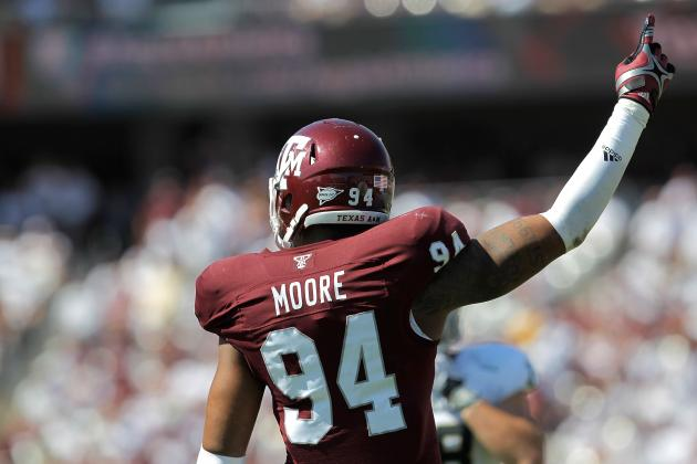 Texas A&M Football: What You Need to Know About Aggies' DE Damontre Moore