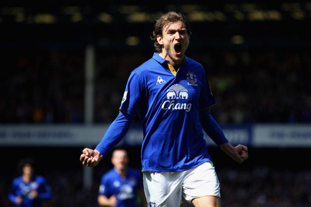 Why Nikica Jelavic Will Be Everton's Most Important Player Next Season