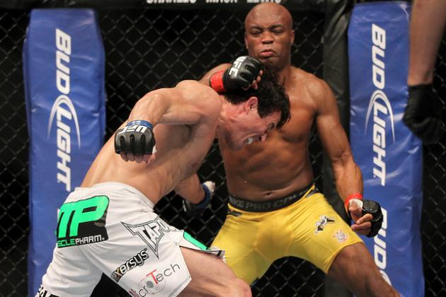 UFC 148 Results: Top 10 Middleweights in the UFC