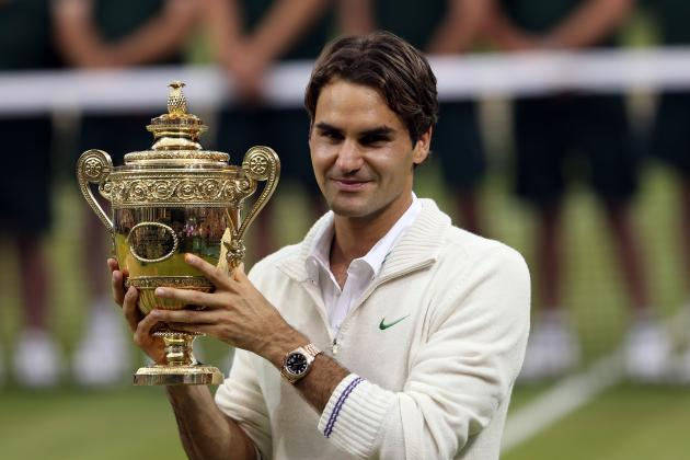 Wimbledon 2012: Where Roger Federer Ranks Among Best Champions in History