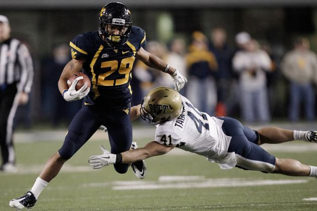 West Virginia Football: What You Need to Know About WVU's RB Dustin Garrison