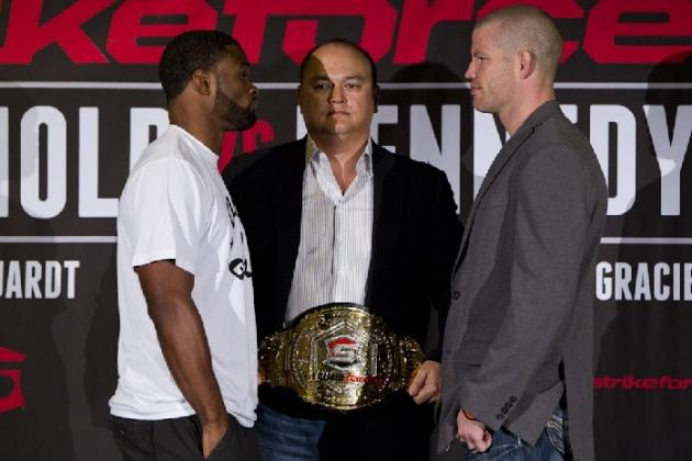 Strikeforce: Nate Marquardt vs. Tyron Woodley Head-to-Toe Breakdown