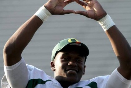 One Word for Oregon 2013 Recruit Dontre Wilson at the Opening: Wow