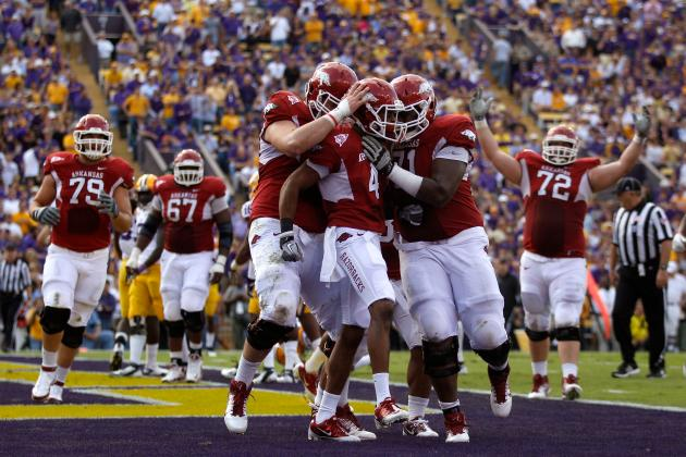 Arkansas Football: Projecting Stats for the Razorbacks' Key Stars in 2012