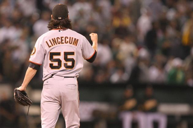 2012 San Francisco Giants: Tim Lincecum by the Numbers