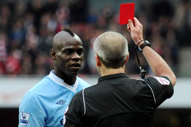 10 Players Certain to Get Red Cards in the Premier League Next Season