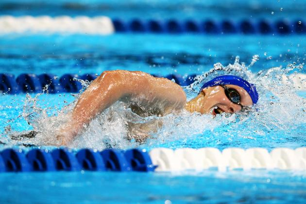 London 2012, US Olympic Swimming: 5 Things About 15-Year-Old Katie Ledecky