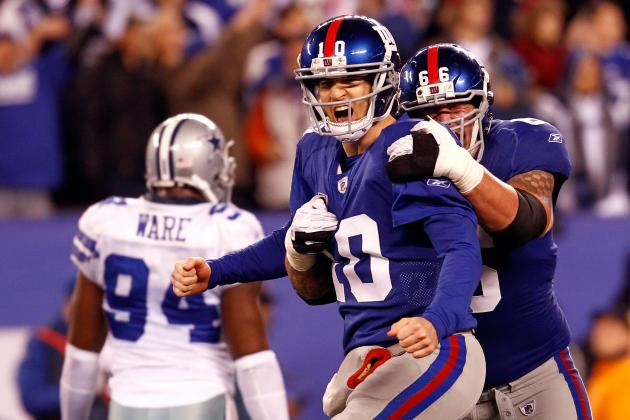 New York Giants: Best- and Worst-Case Scenarios for Each Game on 2012 Schedule