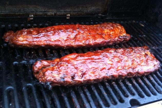 MLB All-Star Festivities: A Rack of Ribs Given out