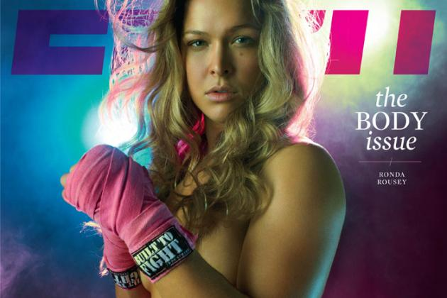 Strikeforce Champ Ronda Rousey Nude in ESPN's Body Issue