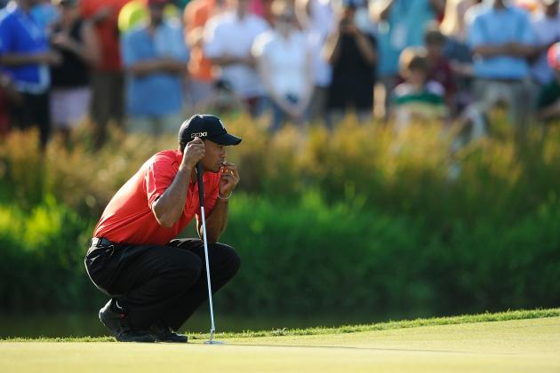PGA Tour 2012: Tiger Woods and the Best Clutch Putters on Tour
