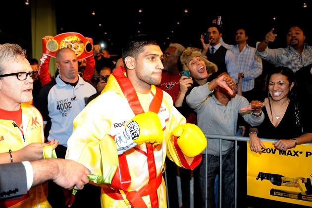 Amir Khan and the Most Successful Olympic Boxing Medalists in the Pro Ranks