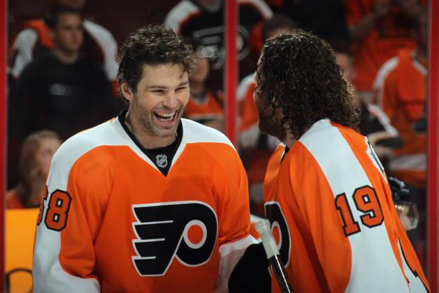 NHL Free Agency: 5 Likely Replacements for Jaromir Jagr on Flyers