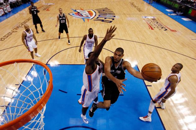Tim Duncan and the NBA's Top 10 Players over 35