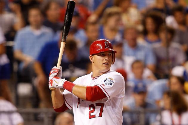 AL Rookie of the Year Rankings: Mike Trout the Clear Favorite at All-Star Break