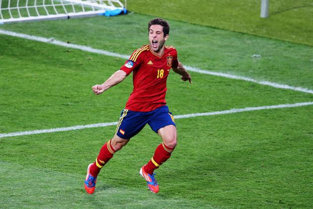 Jordi Alba and 7 Players Who Have 'Arrived' After Stellar Play at Euro 2012