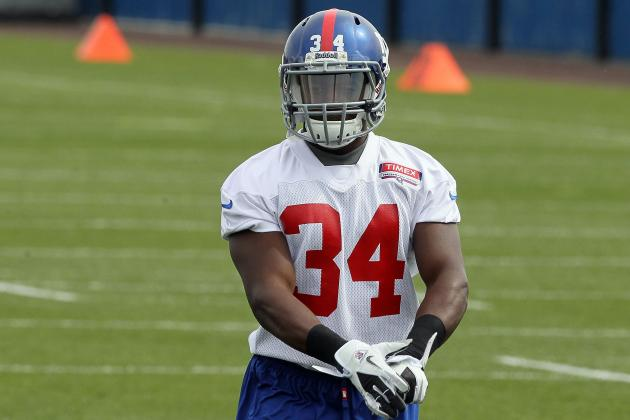 New York Giants: Why Expectations Must Be High for Rookie RB David Wilson