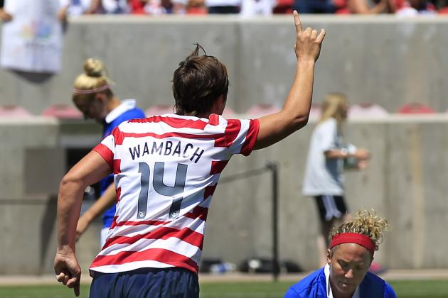 Abby Wambach's Top 10 Moments for the US Women's National Team