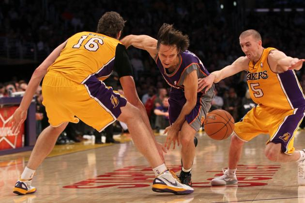 A Lakers' Toast to Steve Nash: The Top 10 Lakers Point Guards of All Time
