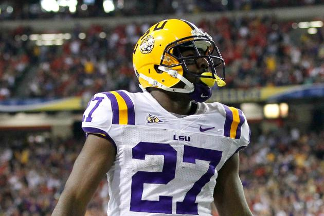 LSU Football: Weighing Pros and Cons of Les Miles Using Several RBs in 2012