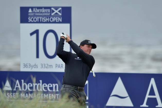 British Open 2012 Tee Times: When You Can Catch Top Golfers in Round 2