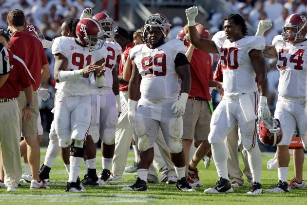 Alabama 2012: Tide Defense Not Quite as Young as It May Appear