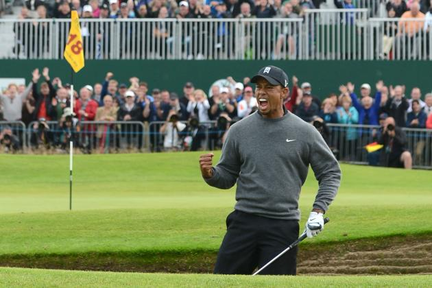 British Open 2012: Where Tiger Woods and Top Golfers Currently Stand