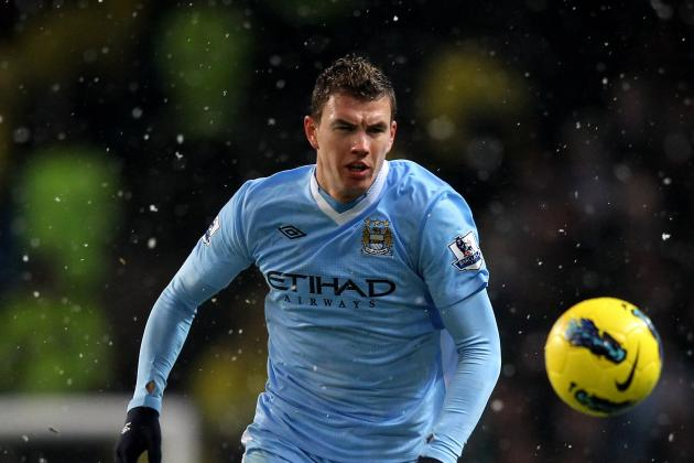 Manchester City: 5 Potential Replacements for Edin Dzeko