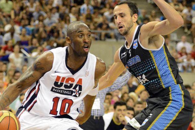 Argentina Olympic Basketball Team Gives Team USA Their Toughest Foe