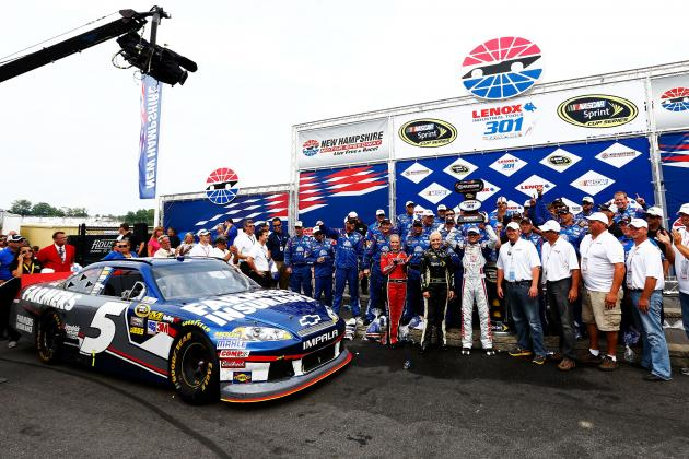 NASCAR Power Rankings: Top 20 Drivers Coming out of New Hampshire