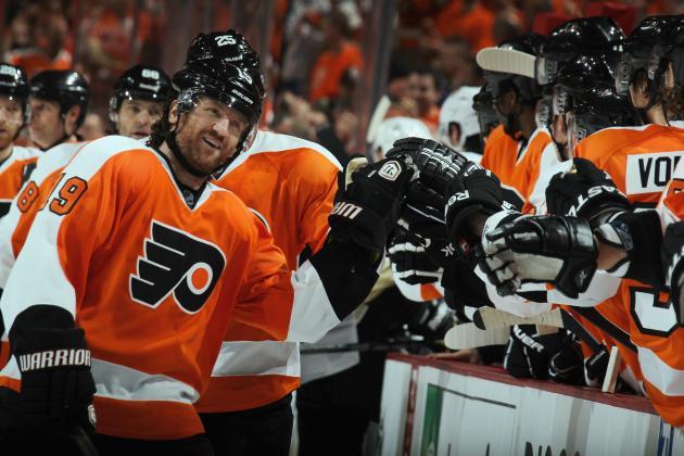 Philadelphia Flyers: Ranking Flyers' Top 10 Scoring Threats in 2012-13