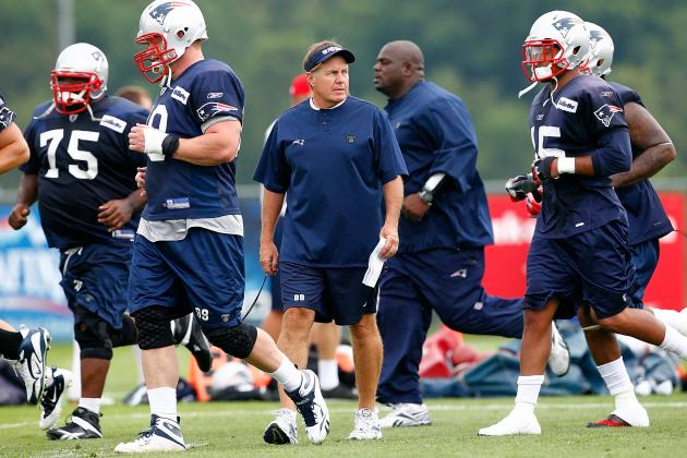 New England Patriots Roster Bubble Battles Headed into Training Camp
