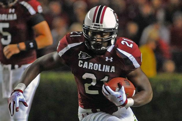South Carolina Football: Predicting 2012 Stats for Gamecocks' Top Players
