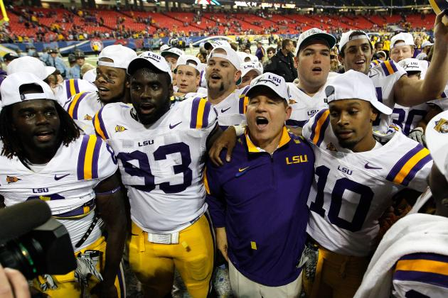 Les Miles Tracker: What the LSU Football Coach Is Saying at SEC Media Days