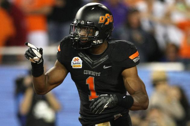 Oklahoma State Football: Is Joseph Randle Worthy of School's All-Time Top 25?