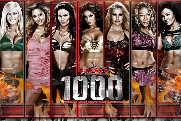 Raw's 1,000th Episode: 5 Divas Who Should Make a Return