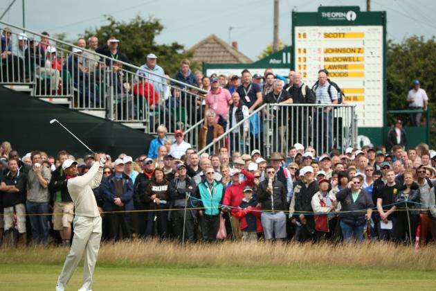 British Open 2012: Power Ranking Biggest Draws of This Major