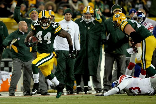 How the Green Bay Packers Running Game Can Be Effective in 2012