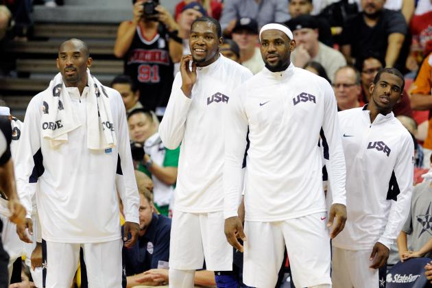 London 2012: How U.S. Men's Basketball Could Fall Short of Expectations