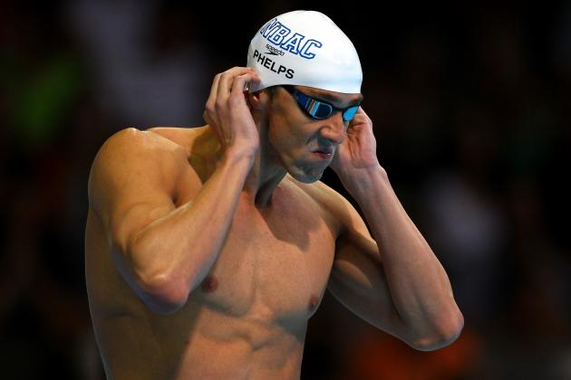 Michael Phelps 2012 Olympics: Event Schedule, Results, Highlights & More
