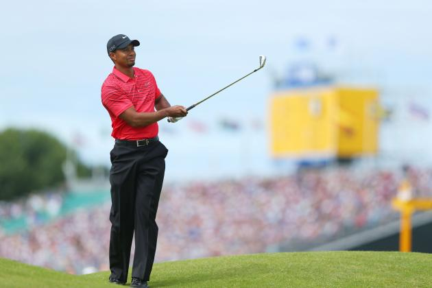 British Open 2012: Updated Scores and Standings