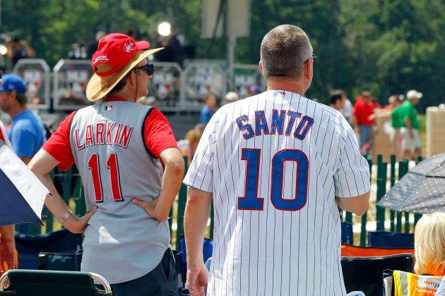 MLB Hall of Fame Induction 2012: Cooperstown Highlights for Larkin and Santo