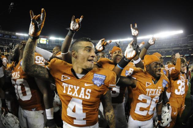 Texas Football: What You Need to Know About Longhorns 2012 Seniors