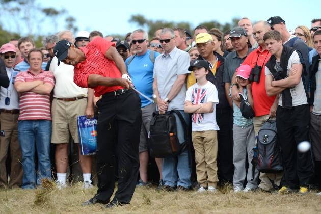 British Open 2012 Leaderboard: Where Tiger Woods and Top Golfers Finished
